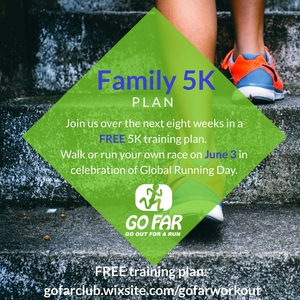 Free GO FAR 5K Training Plan