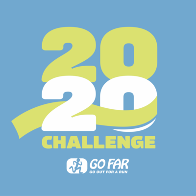 Run 20 Miles in 20 Days with GO FAR