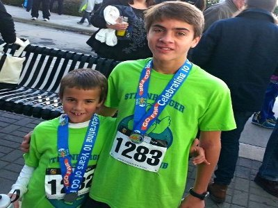 Program Benefits Go Beyond Running for Three Brothers