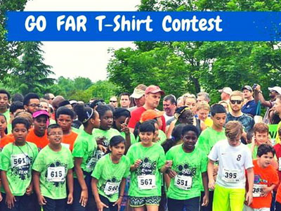 Enter the GO FAR Summer T-Shirt Contest!