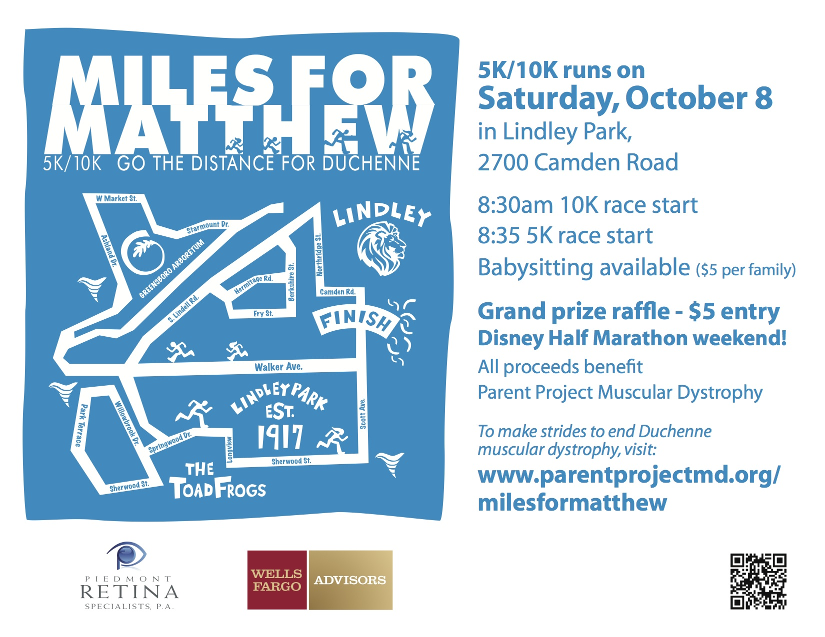 Miles for Matthew Event Oct. 8