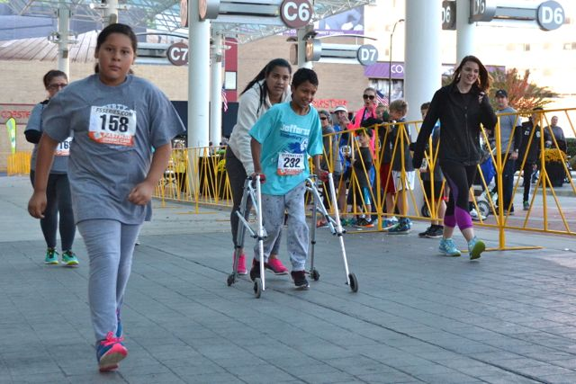 A 5K Finish: Student's Determination Has No Limits