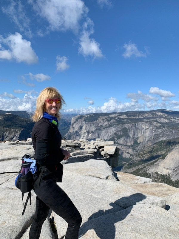 Robin Lindsay, Founder of GO FAR is on top of the world!